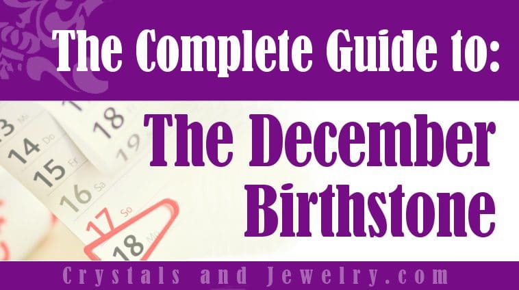 December Birthstone for protection