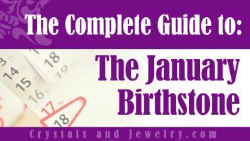 How to use January Birthstone?