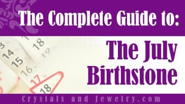 July Birthstone for luck and wealth