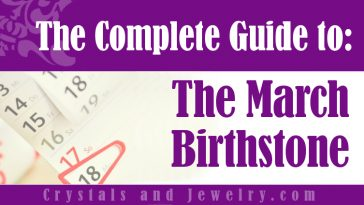 How to use March Birthstone?
