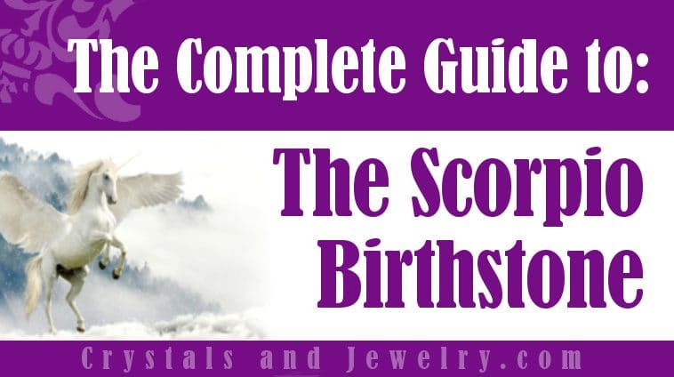 Scorpio Birthstone for luck and wealth