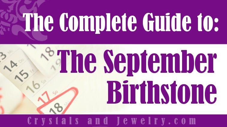 September Birthstone for protection