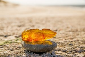 Amber stone for strength