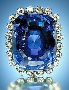 A gorgeous Sapphire ring