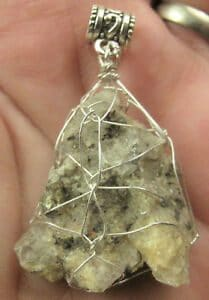 Witches Finger Crystals Example