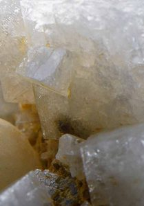 A piece of Zeolites crystal stone