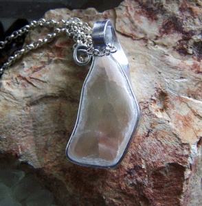 A marvelous Ulexite jewelry