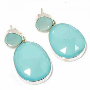 Dazzling Chalcedony Earrings