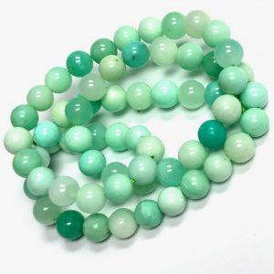 A gorgeous Chrysoprase necklace