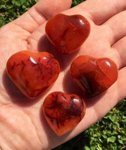 Carnelian stones for depression