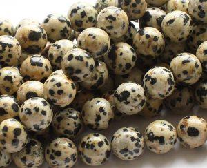Beautiful Dalmatian Jasper beads
