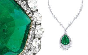 A gorgeous Emerald necklace