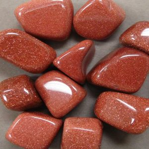 Examples of Goldstone beads