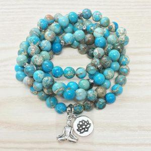 Lovely Ocean Jasper necklace