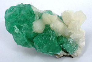 A beautiful piece of Green Apophyllite stone